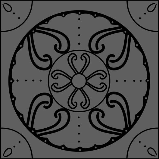 medallion tile